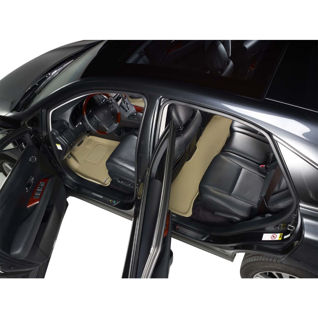 thumbnail 21 - 3D MAXpider Custom Fit KAGU All-Weather Floor Mats for Scion 2013-2015 xB