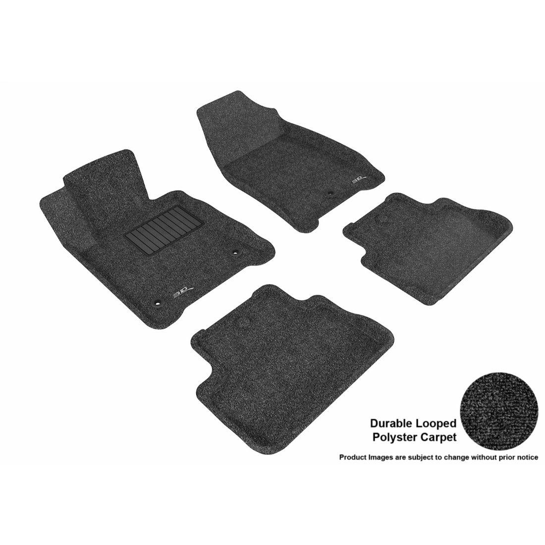 thumbnail 10 - 3D MAXpider Custom Fit CLASSIC Floor Mats for Chevrolet 2006-2013 Impala