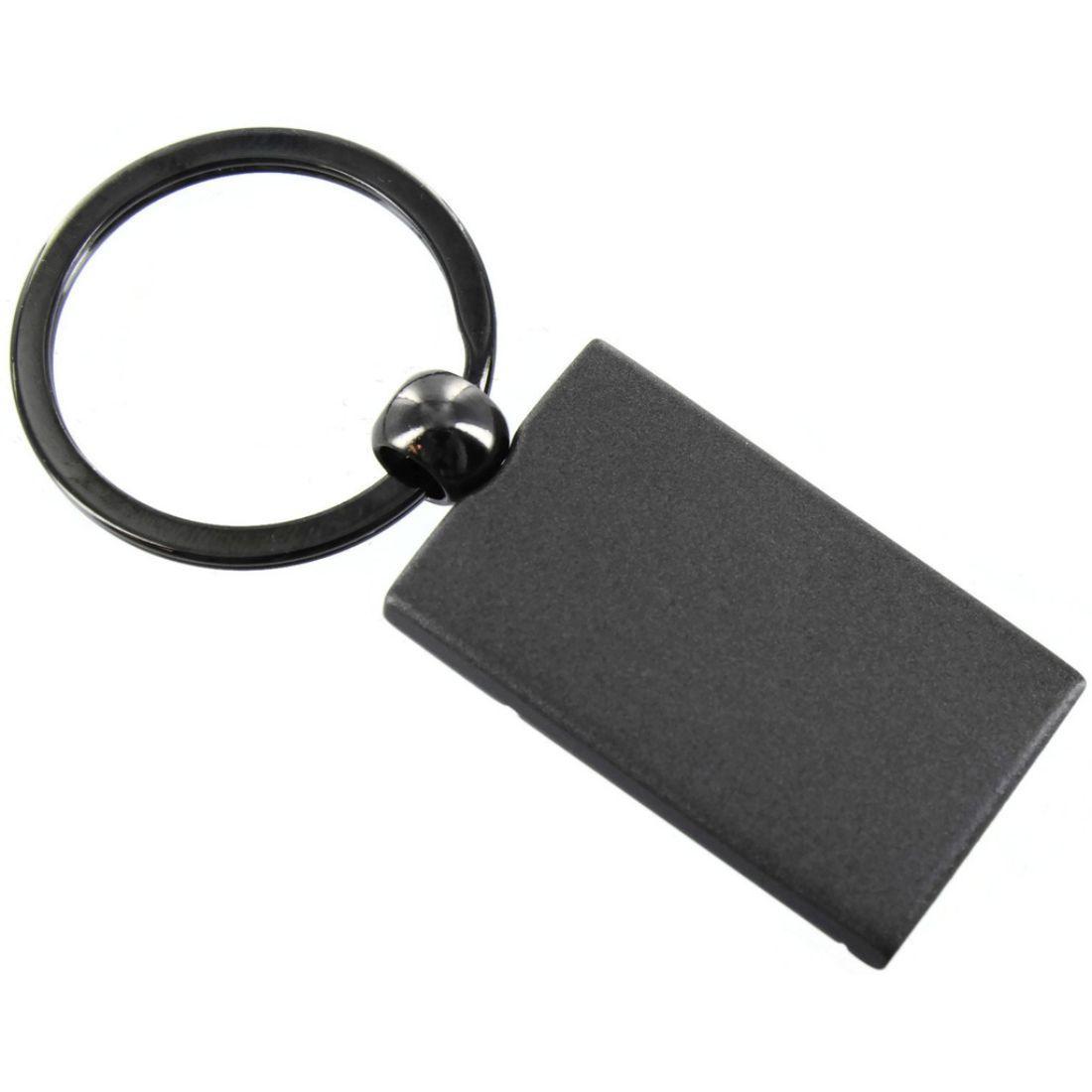 Acura TLX Key Ring Gunmetal Rectangular Keychain