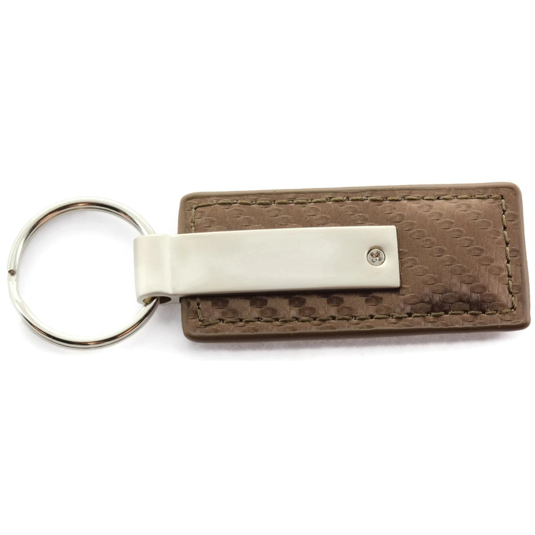 Jeep Grand Cherokee Purple Leather Key Ring