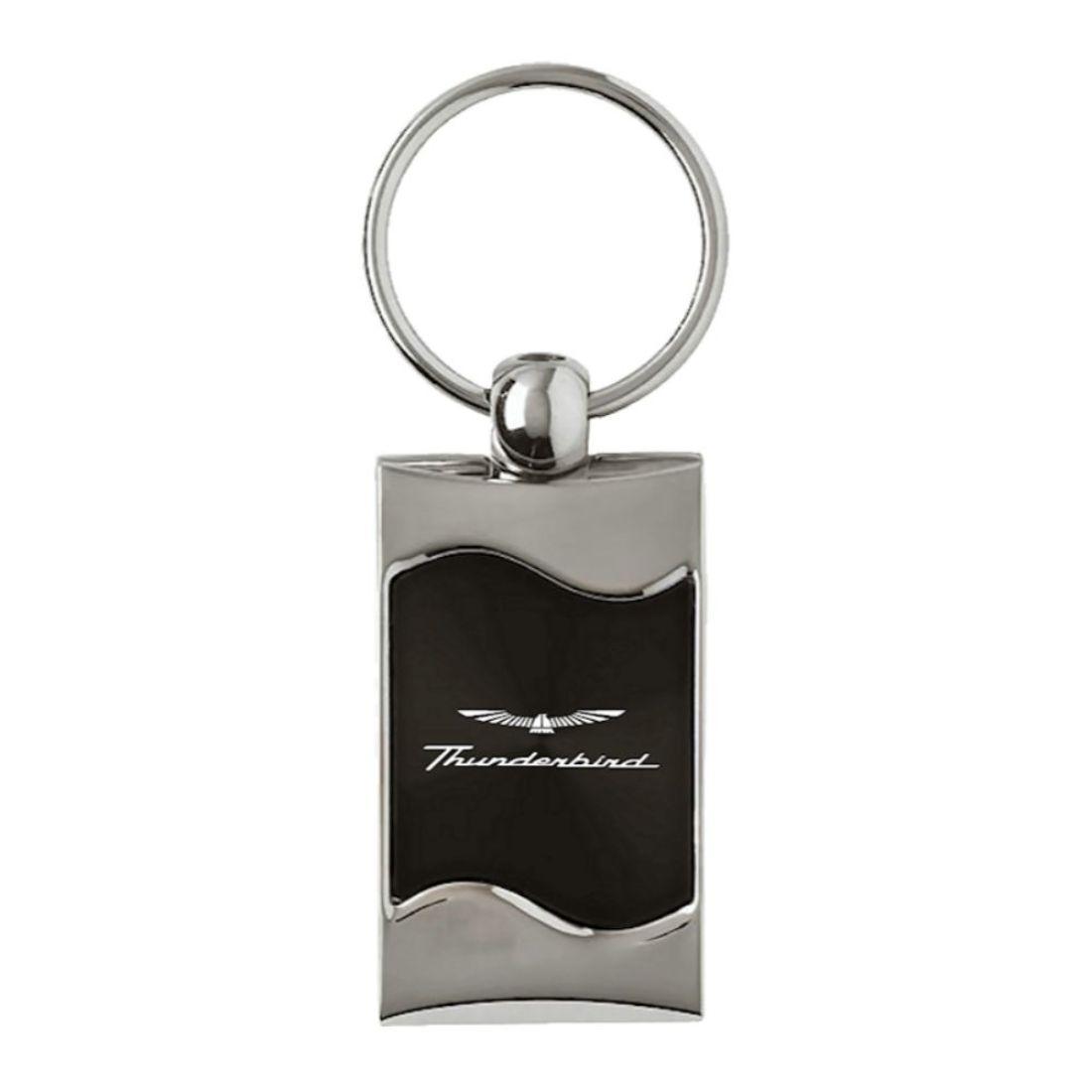 INC Teardrop Au-Tomotive Gold Ford Thunderbird Keychain /& Keyring