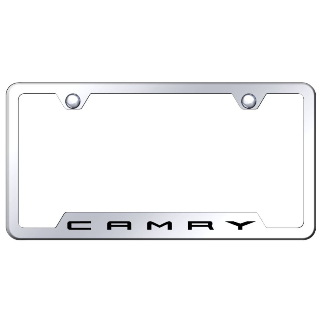 Toyota Camry Chrome Metal License Plate Frame