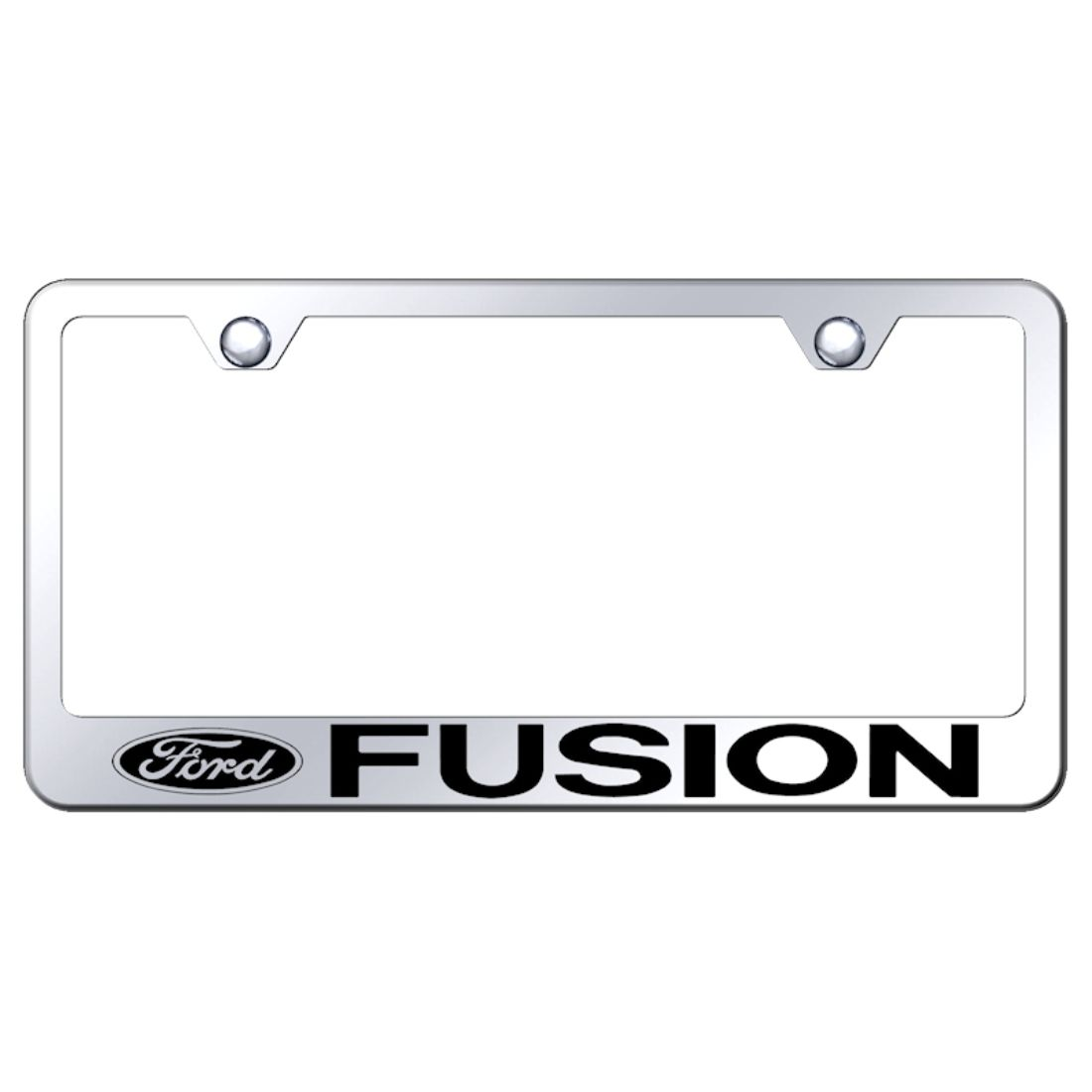 Ford Mirroed Chrome Stainless Steel License Plate Frame
