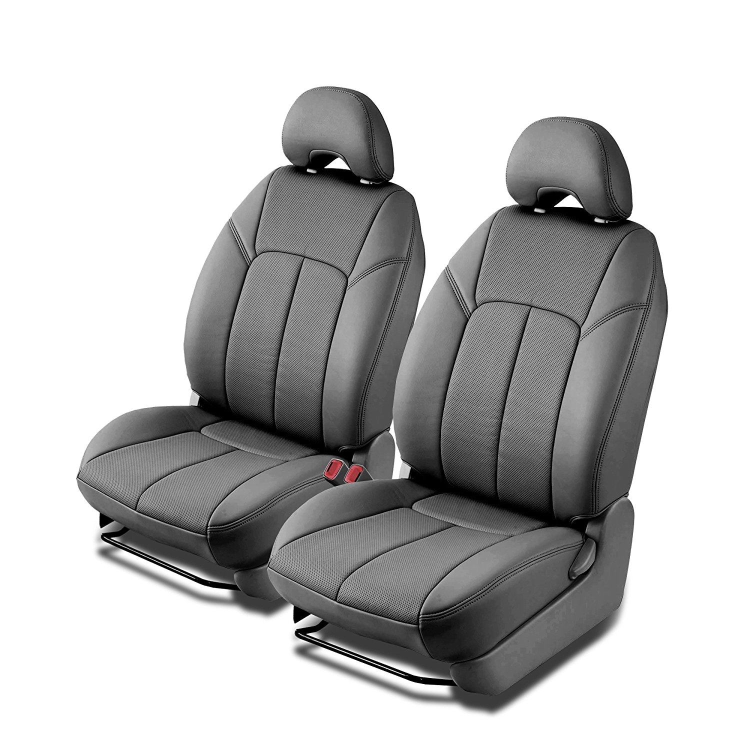 clazzio car black leather seat covers for ford 2012 2016 f250 f350