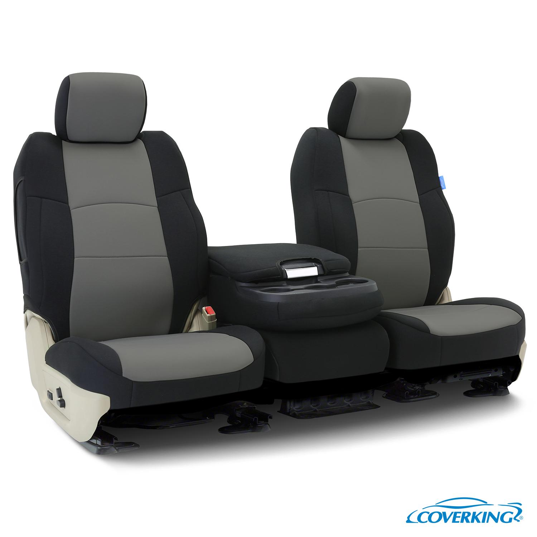 Coverking Neosupreme Front Custom Car Seat Cover For