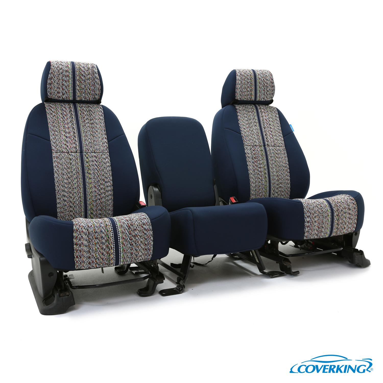 coverking saddleblanket front custom car seat cover ford 00 01 f 450 super duty ebay. Black Bedroom Furniture Sets. Home Design Ideas