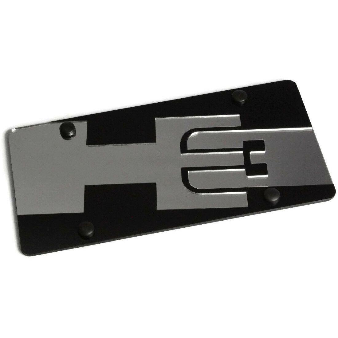 Dodge Logo License Plate Frame 2 Hole//Zinc, Black//Wide