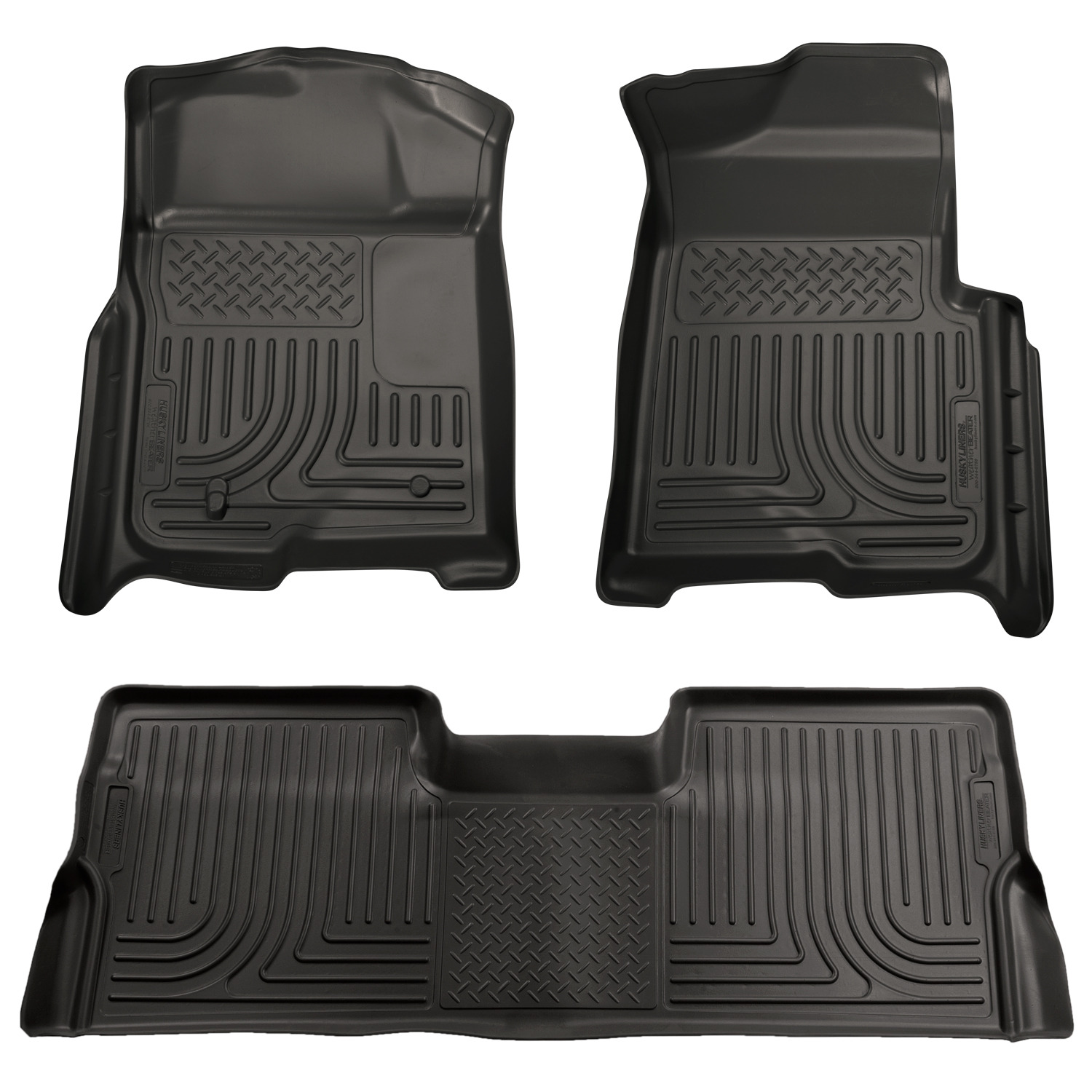 Husky Liners Weatherbeater Car Floor Mat Carpet For Ford 08 10 F