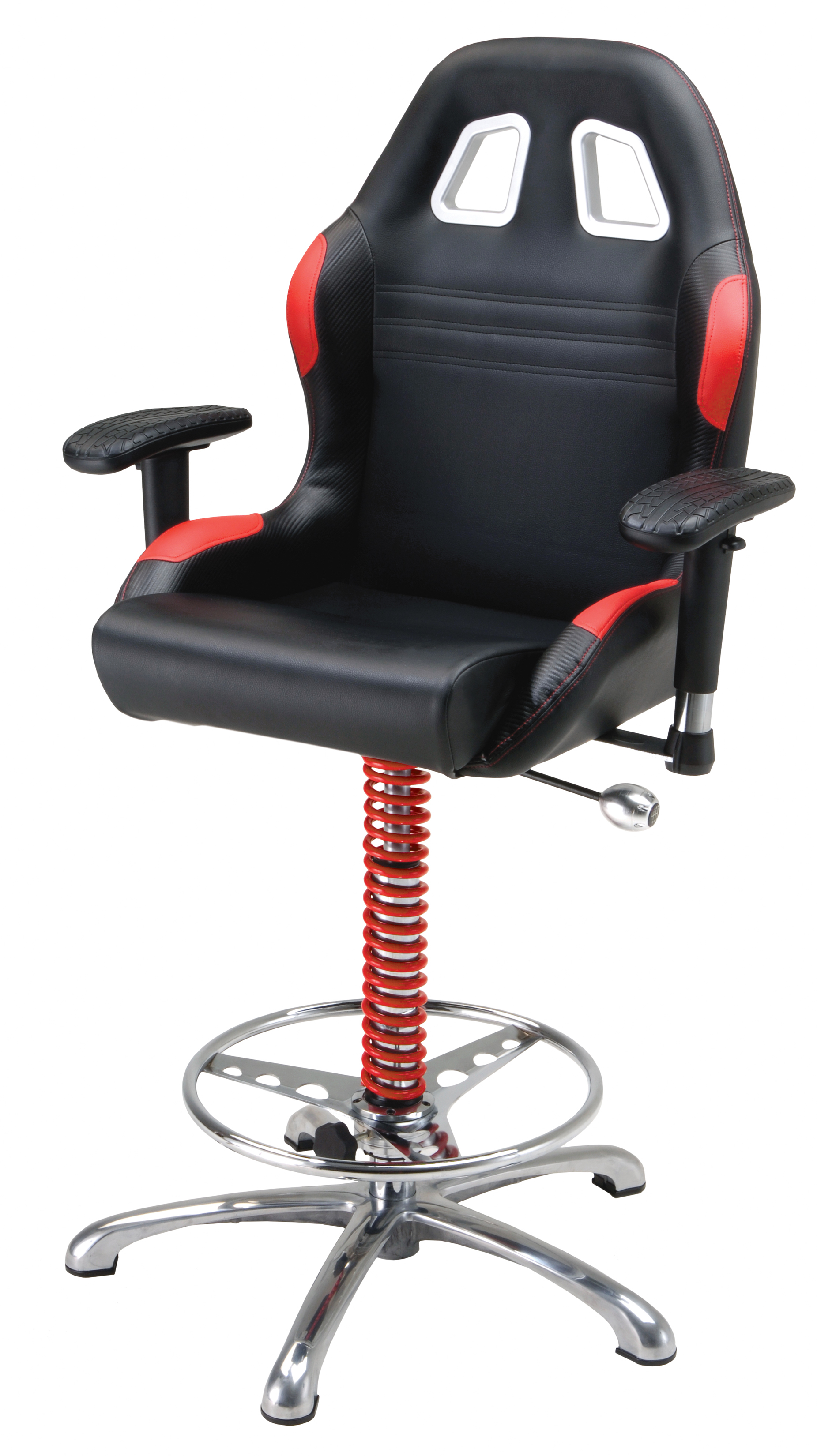 Pitstop Furniture By Intro Tech Automotive Crew Chief Bar Chair