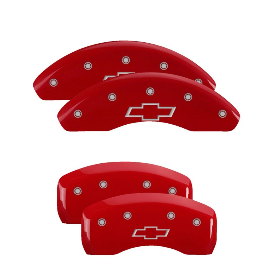 MGP Caliper Brake Covers For Chevy 00-05 Impala Red Paint 14050SBOWRD