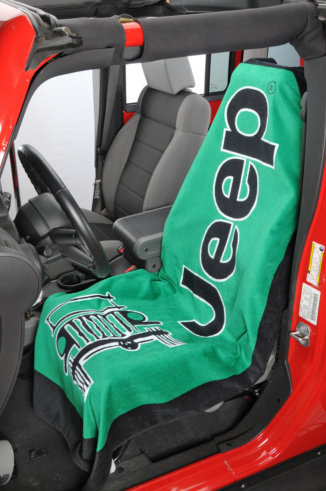 Seat Armour Universal Fit Jeep Logo Towel 2